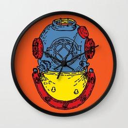 Aqualung Wall Clock