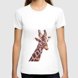 Happy Giraffe White T-shirt