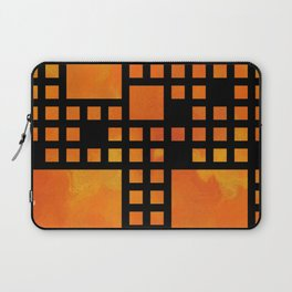 Visopolis V1 - orange flames Laptop Sleeve