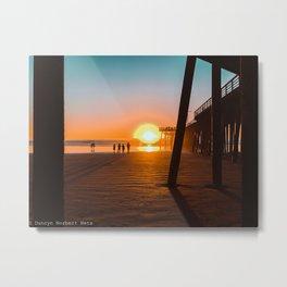 Pier Beauty Metal Print