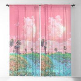 Sunshine Heaven Sheer Curtain