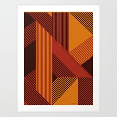 Design is a Mix Art Print
