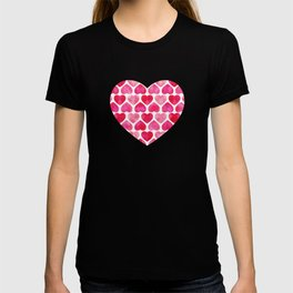 RUBY HEARTS T-shirt