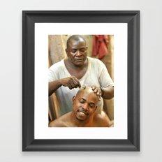 shave Framed Art Print