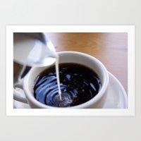 But coffee, first.  Art Print