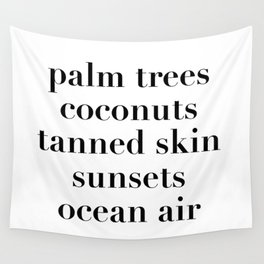 beachy things Wall Tapestry