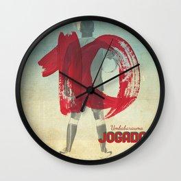 Color Soccer Wall Clock