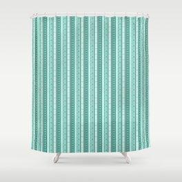 Wonderland Stripe Shower Curtain