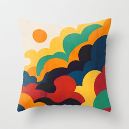 Cloud nine Throw Pillow