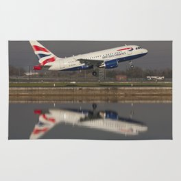British Airways A318 Rug