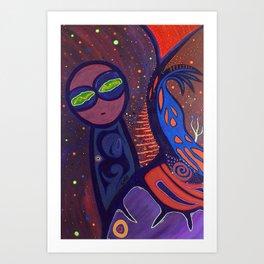 ONO (MACONDO GALAXY) Art Print