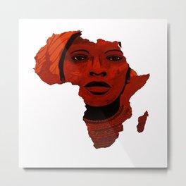 Mother Africa 2 Metal Print