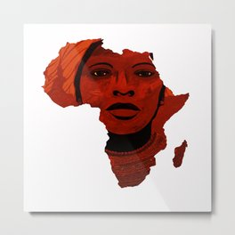 Mother Africa 2 Metal Print