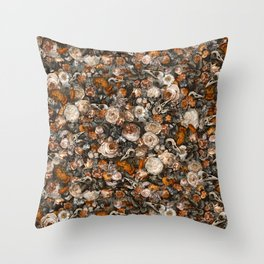 Baroque Macabre Throw Pillow