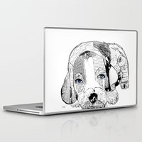 beagle Laptop & iPad Skins featuring Beagle by bri.buckley