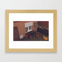 """""""Scenes of losses"""" Scene 03 Framed Art Print"""