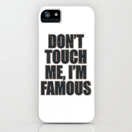Mock your friends with this awesome and cute tee perfectly made for funny people like you!  iPhone Case