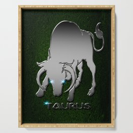 Taurus Serving Tray