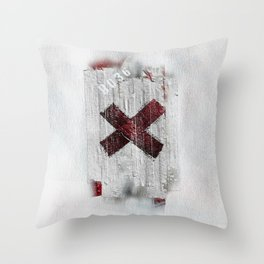 Cross my heart and hope .... Throw Pillow