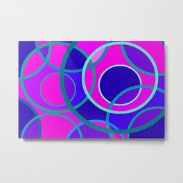 Abstract circle 199 Metal Print