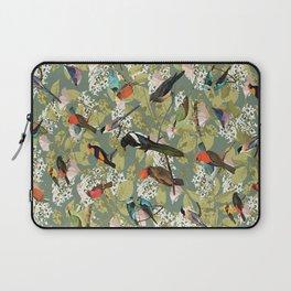 BLUE LOVE BIRDS Laptop Sleeve