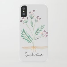 Siembra Amor iPhone X Slim Case