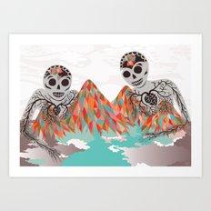 Spectres Art Print