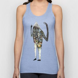 A Magic Castle Surrounded By Hypos and Ginger Bears Unisex Tank Top