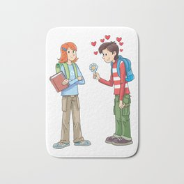 Courtship Bath Mat
