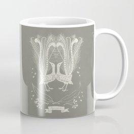 Lyrebird (smoke grey) Coffee Mug