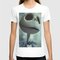 nightmare before christmas T-shirts featuring Jack Skellington (Nightmare Before Christmas) by LT-Arts