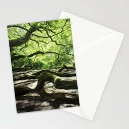 The wings of a mighty angel. Stationery Cards