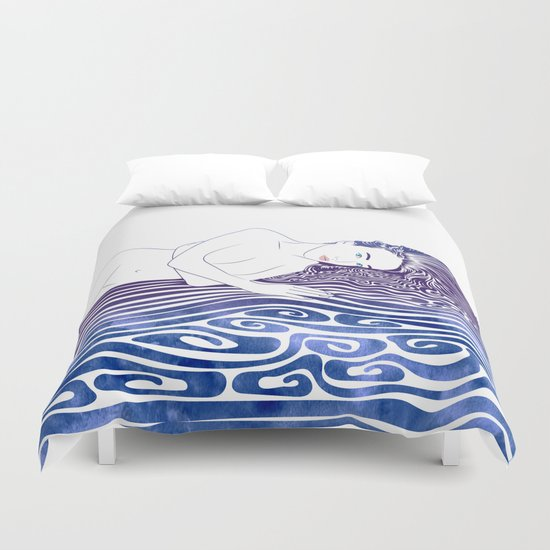 Water Nymph XLI Duvet Cover