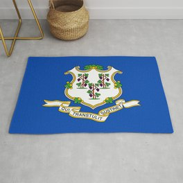 Connecticut State Flag Rug
