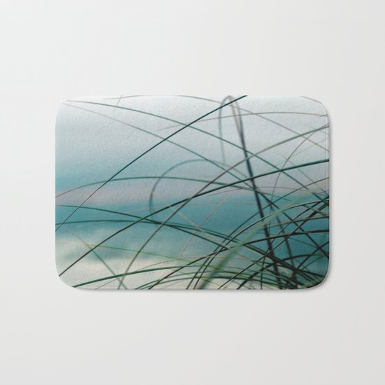 Beach Grass and Sea Bath Mat