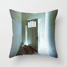 Behind The Door Throw Pillow