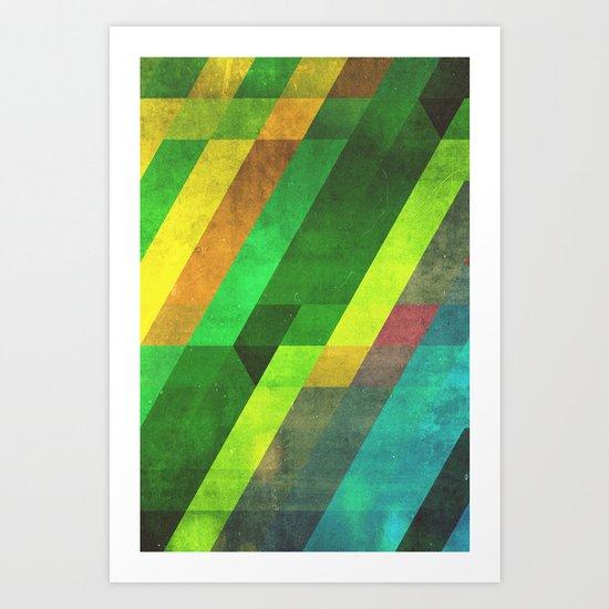 lyyn wyrk Art Print