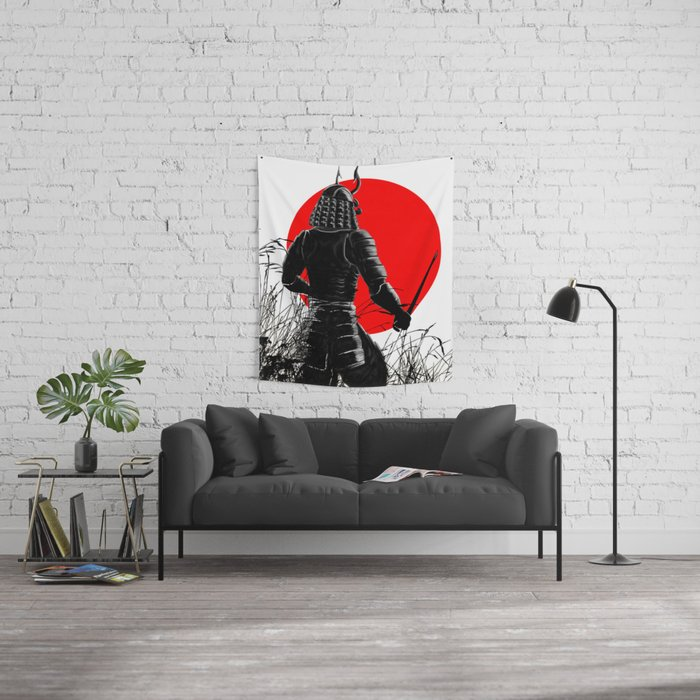 The way of warrior Wall Tapestry