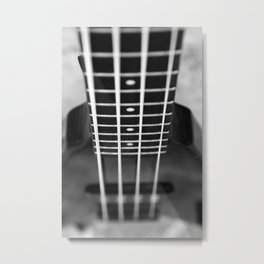 bass guitar Metal Print