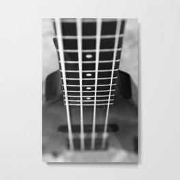 bass guitar Metal Print
