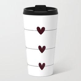 Arrows & Hearts Travel Mug