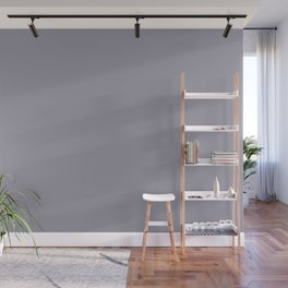 Pantone Lilac Gray 16-3905 Trendy Earth Tone Solid Color Wall Mural