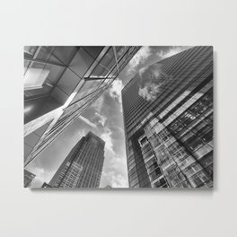 Looking Up In London Metal Print