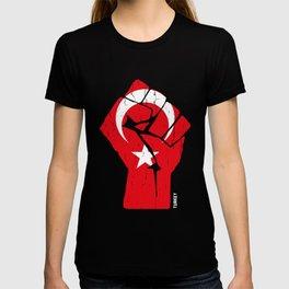 Team Turkey Flag Tee Shirt T-shirt