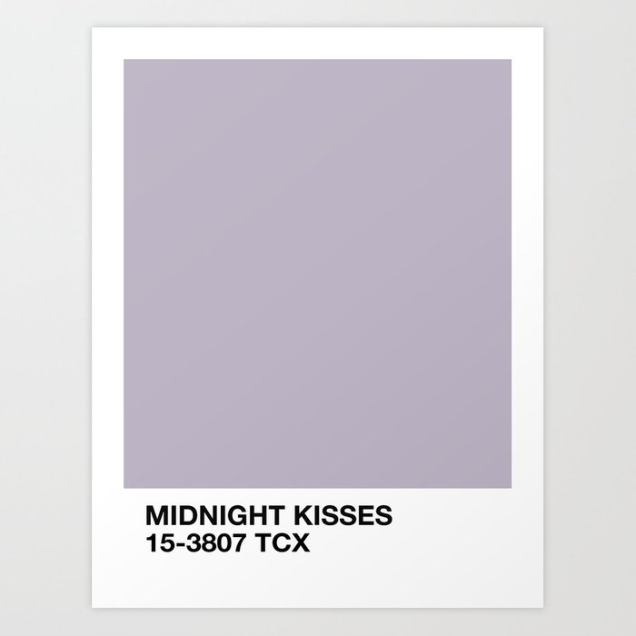 midnight kisses Kunstdrucke