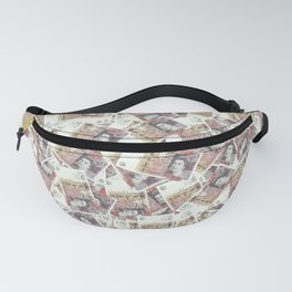 Giant money background 50 pound notes / 3D render of thousands of 50 pound notes Fanny Pack