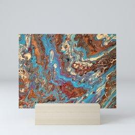 The Blues and Salted Caramel Mini Art Print