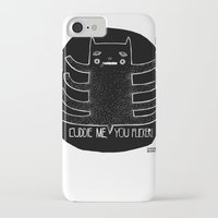 cuddle iPhone & iPod Cases featuring cuddle me by smaomao