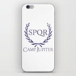 spqr camp jupiter original purple iPhone Skin