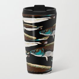 Trout Metal Travel Mug